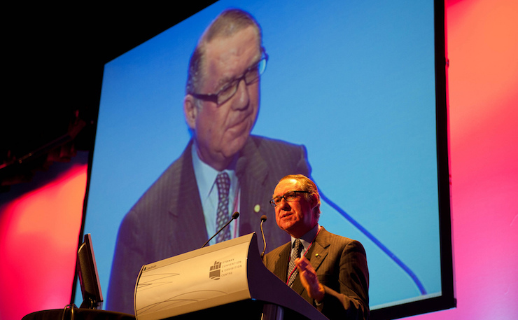 David Gonski. Image: CeBIT, Flickr