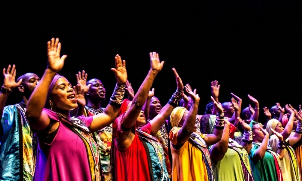 Soweto Gospel Choir. Image via  Soweto Gospel Choir .