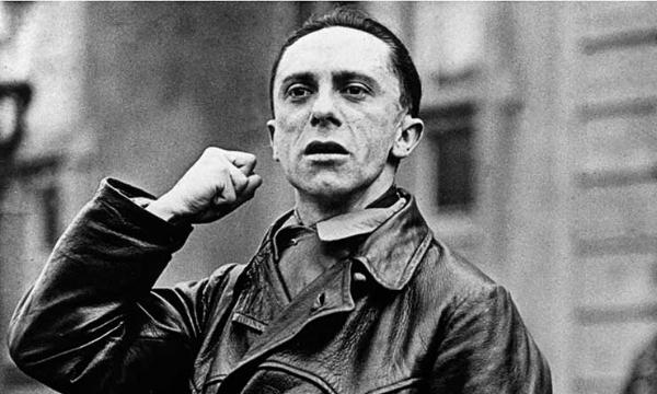 Nazi Propagandist, Joseph Goebbels.