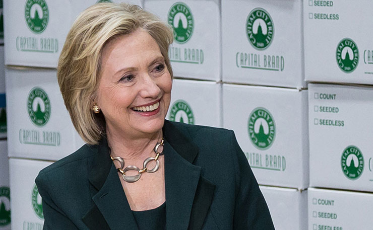 Democratic presidential candidate, Hillary Clinton. (Image: iprimages, Flickr)