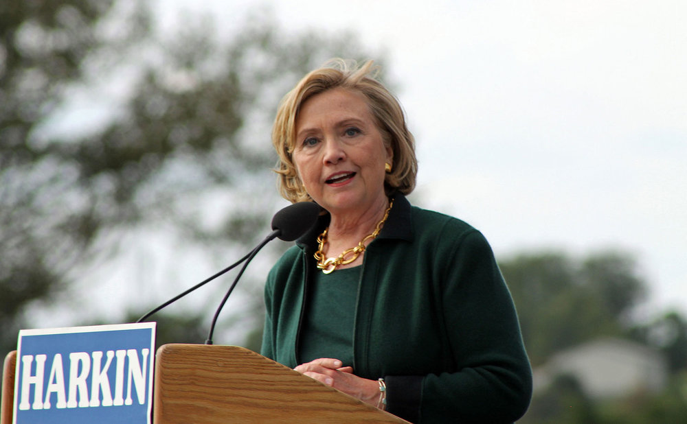 US Presidential hopeful, Hillary Clinton. (Image: Karen Murphy, Flickr)