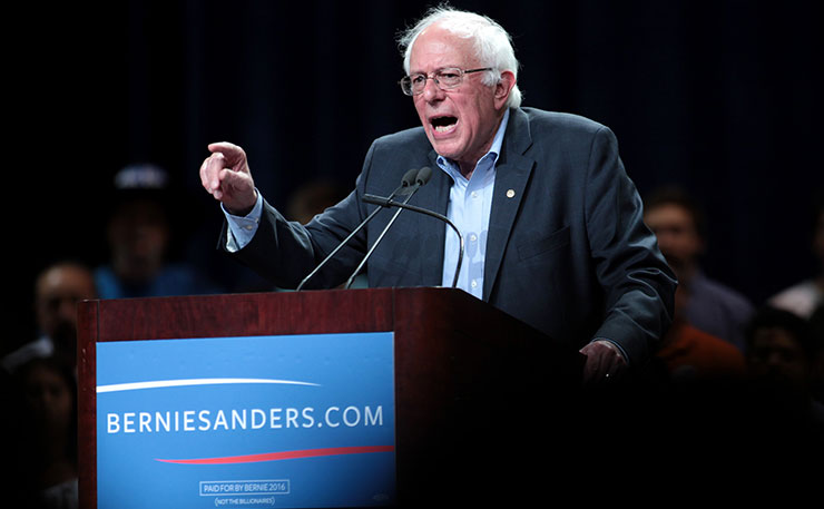 Unsuccessful US Democrats presidential candidate Bernie Sanders. (Image: Gage Skidmore, Flickr)