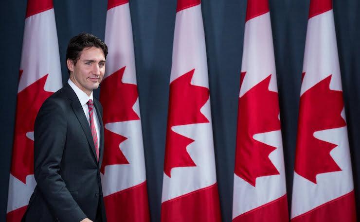 Canadian PM Justin Trudeau.