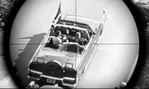 Screencap from JFK