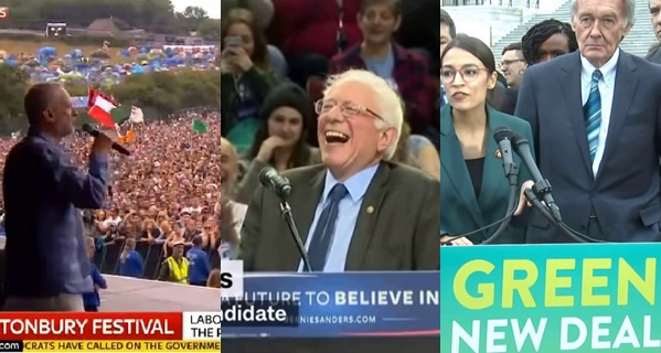 Screencaps from  Blazin Stars ,  CNN  and  NBC News