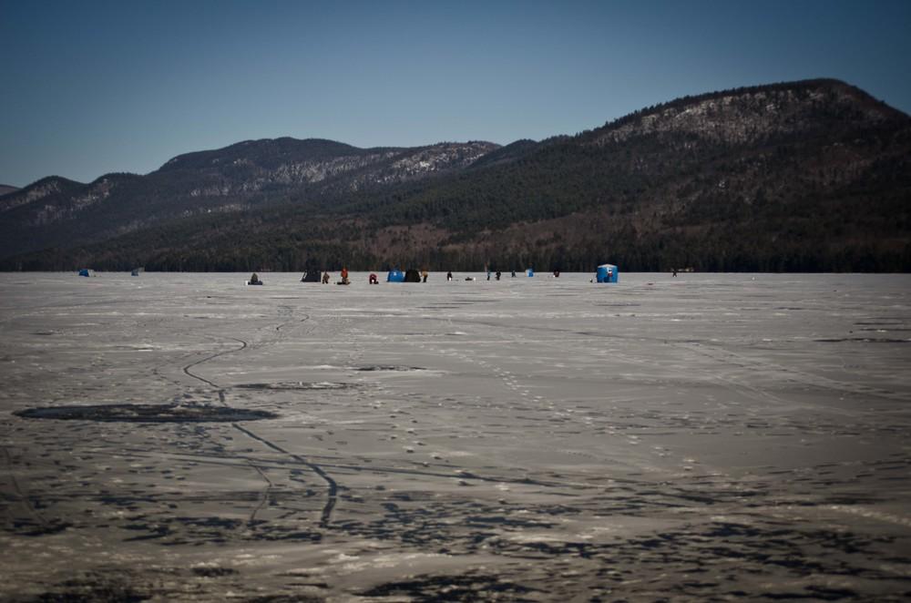 Lake George, Lake George NY, Frozen Lake, Bolton Landing