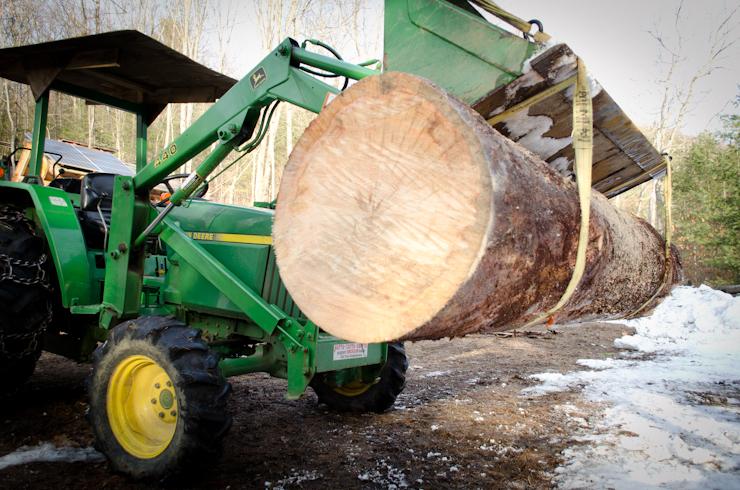 1997 John Deere 1070, Debarking, Bandsaw Mill, Milling Lumber, Custom Milling, Husqvarna 562xp