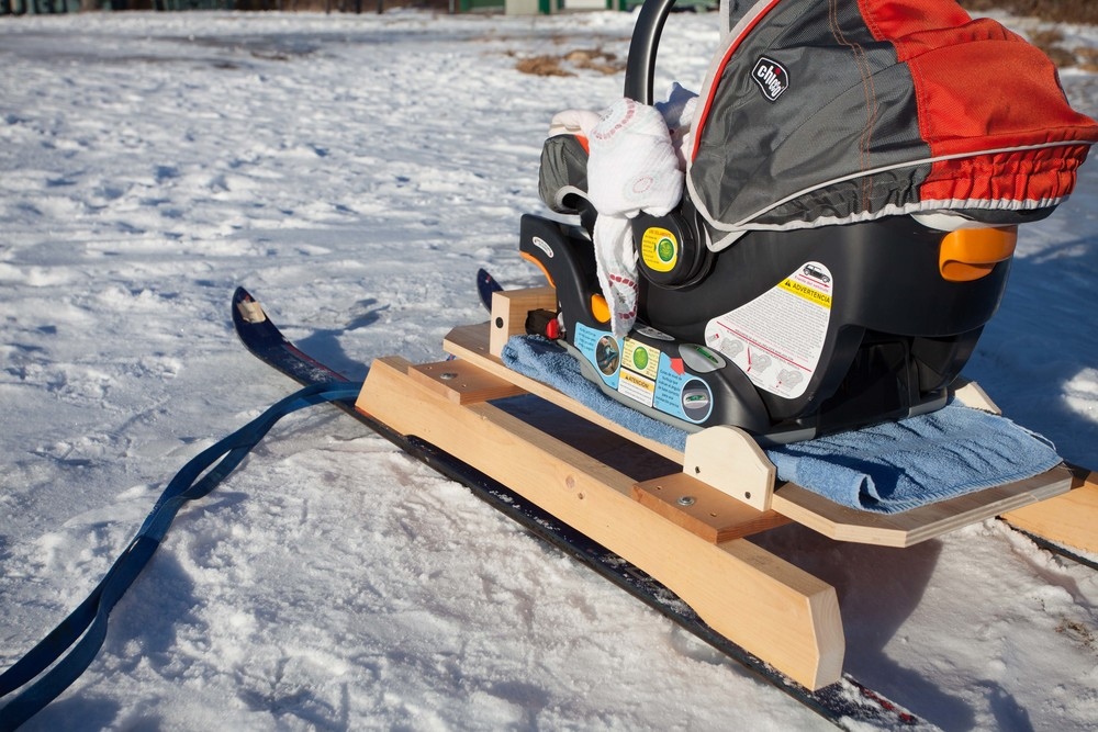 Baby Snow Sled