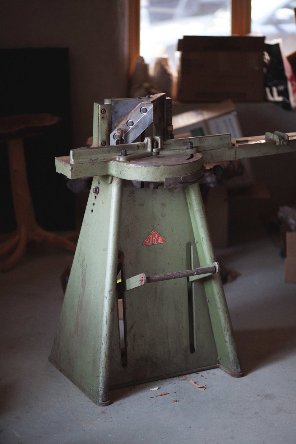 Older Morso Guillotine Trimmer Cutter