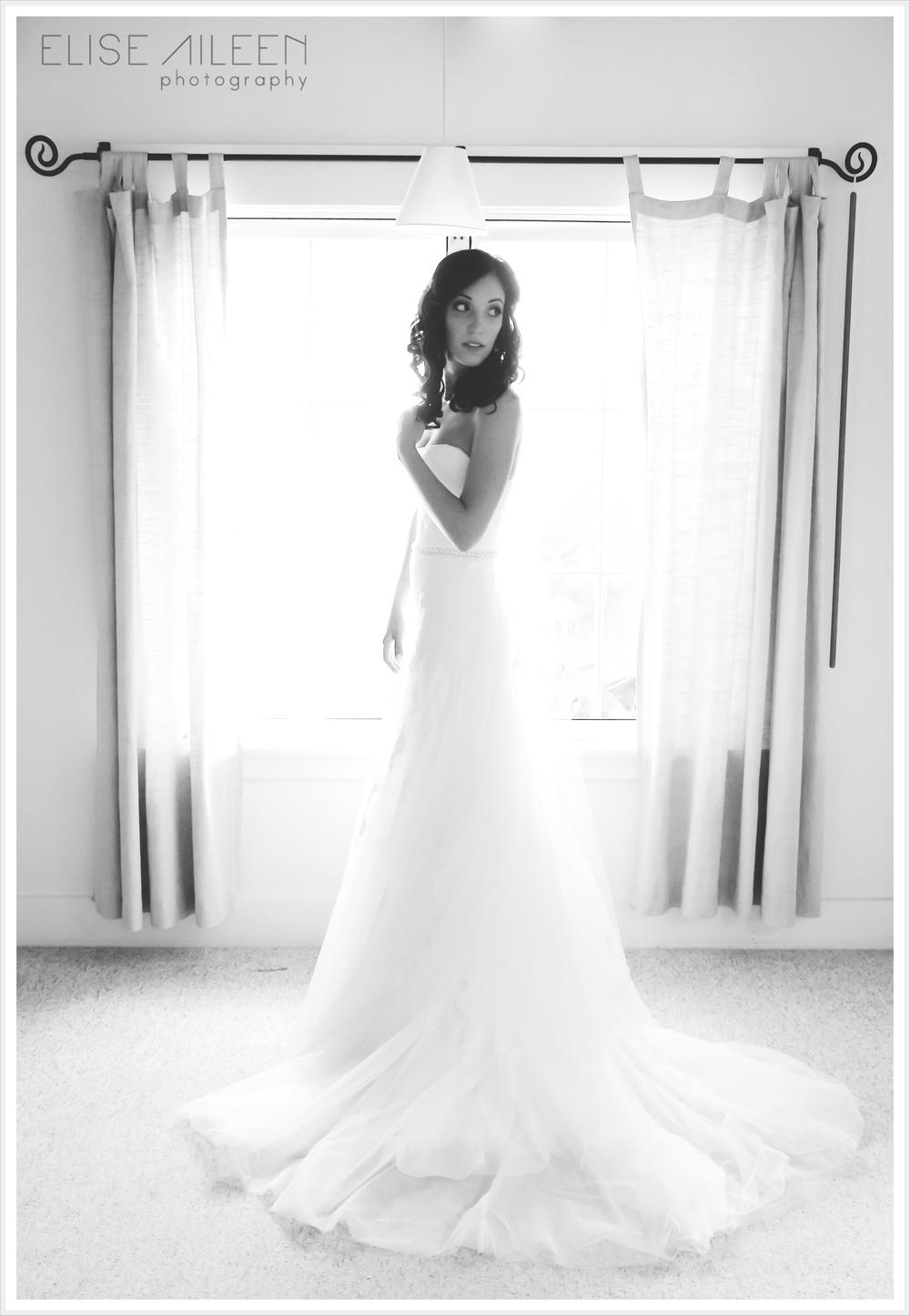 The STUNNING Bride, Sophie.