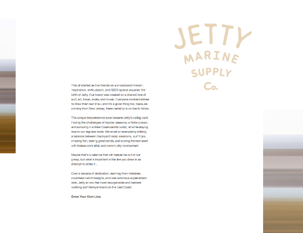 Click to see the new SS17 Clothing line from Jetty Clothing