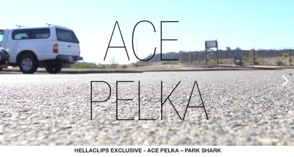 Ace Pelka (@slappyredz) shreds Prince Park in Oceanside, CA for the latest Park Shark Edit.