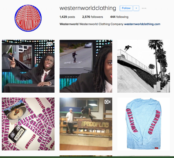 Follow Western World Clothing on Instagram.