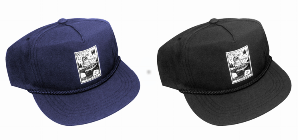 death card poplin hat