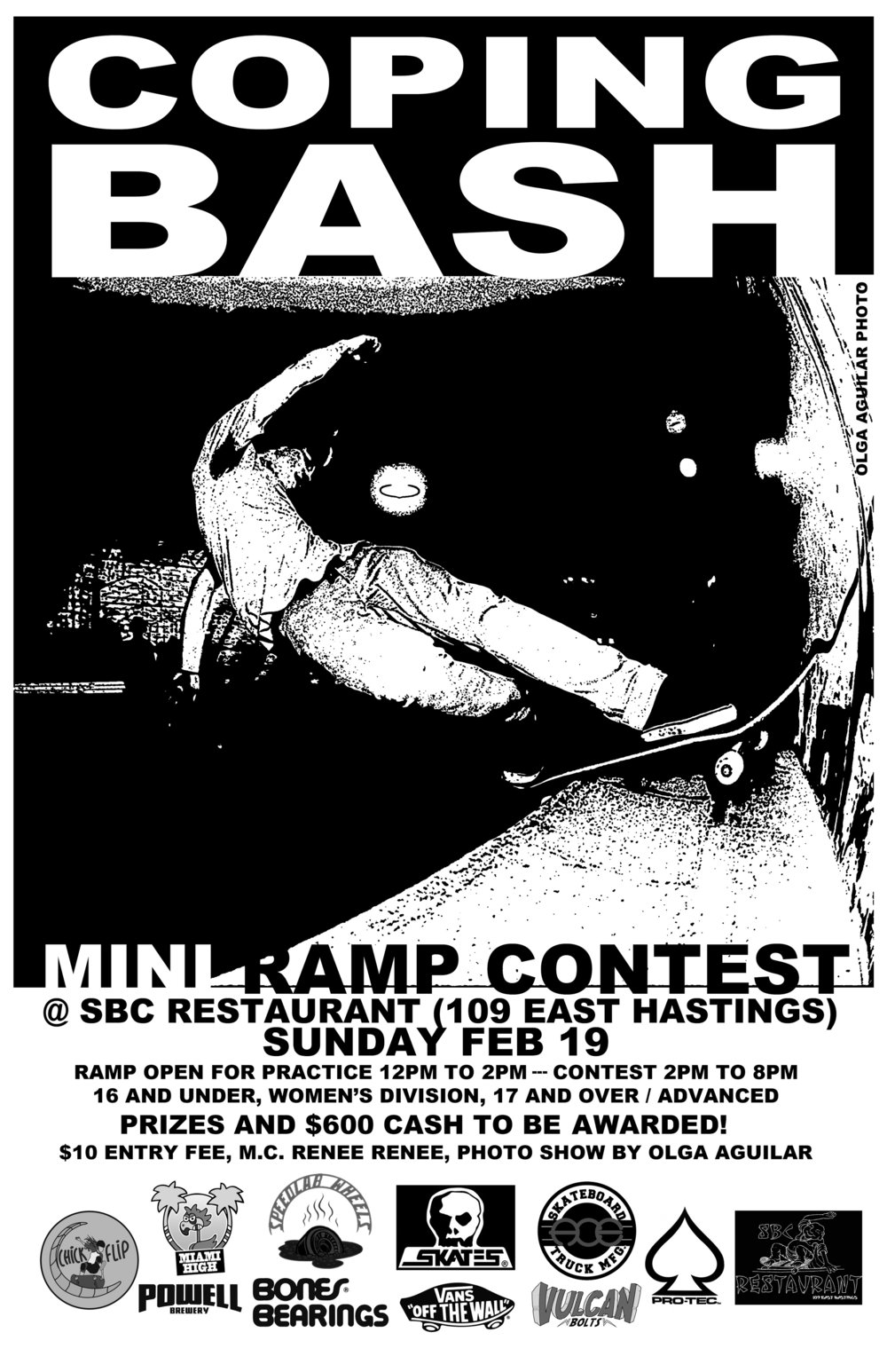 coping bash contest