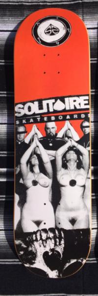 Lavey deck solitaire skateboards