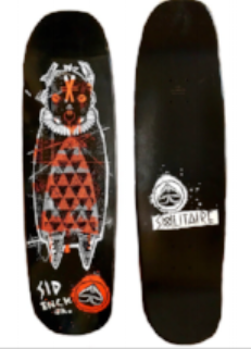 warrior deck solitaire skateboards