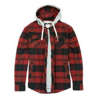Marshender Lined Flannel with hood