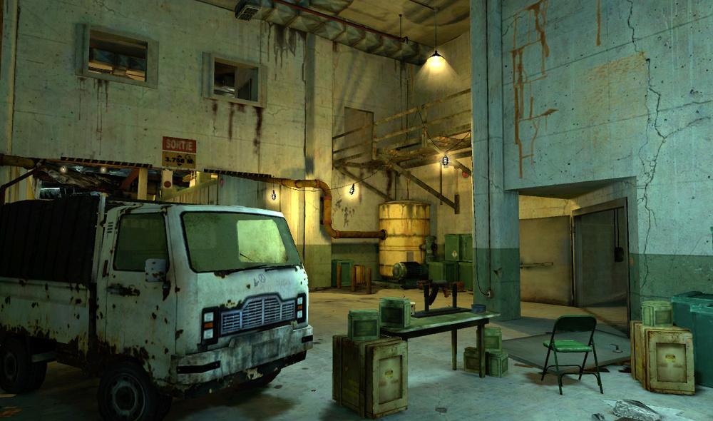 SOCOM:OPFOR bunker - PlayStation Home