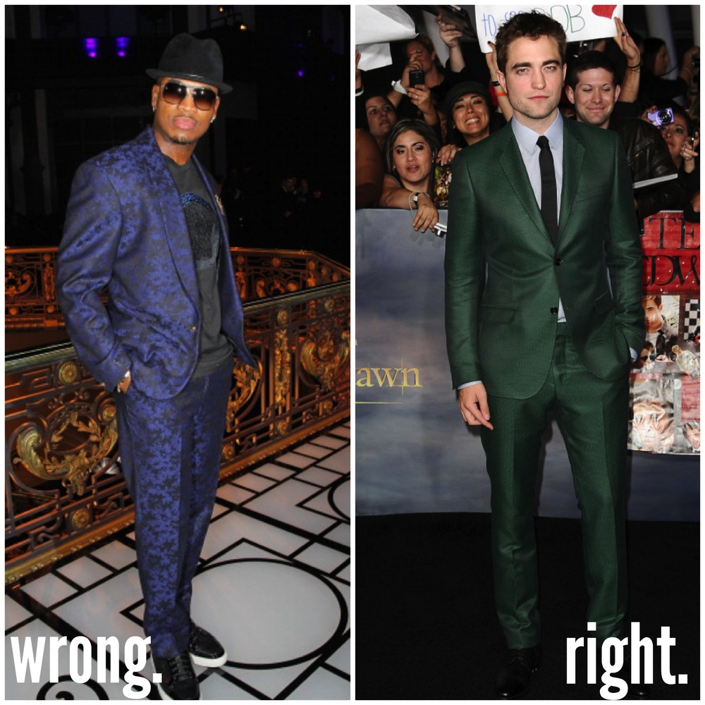 (L) Ne-Yo // (R) Robert Pattinson