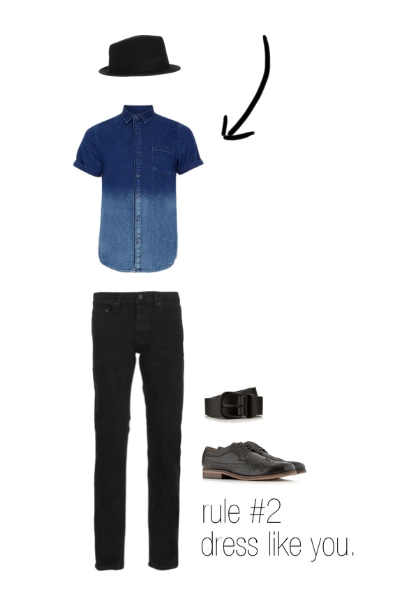 Shirt, Jeans, Belt & Shoes-  Topman   Hat-  ASOS