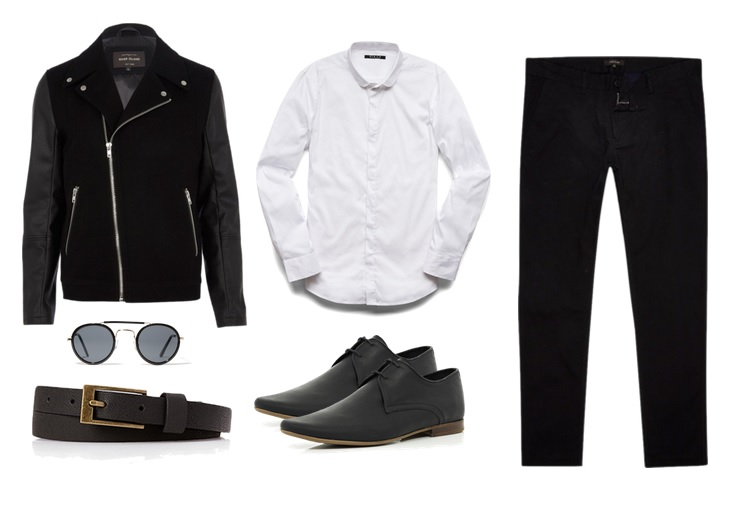 Jacket, Shoes & Jeans - River Island Shirt & Accessories - 21 Men