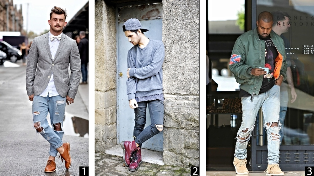 1.Nathan McCallum, creator of  Bangarang Blog   2.  Uknown stylish individual with boots that I want.  3. Yeezy