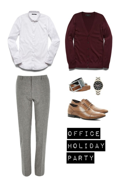 Shirt and cardigan - 21Men Pants, shoes and accessories - River Island