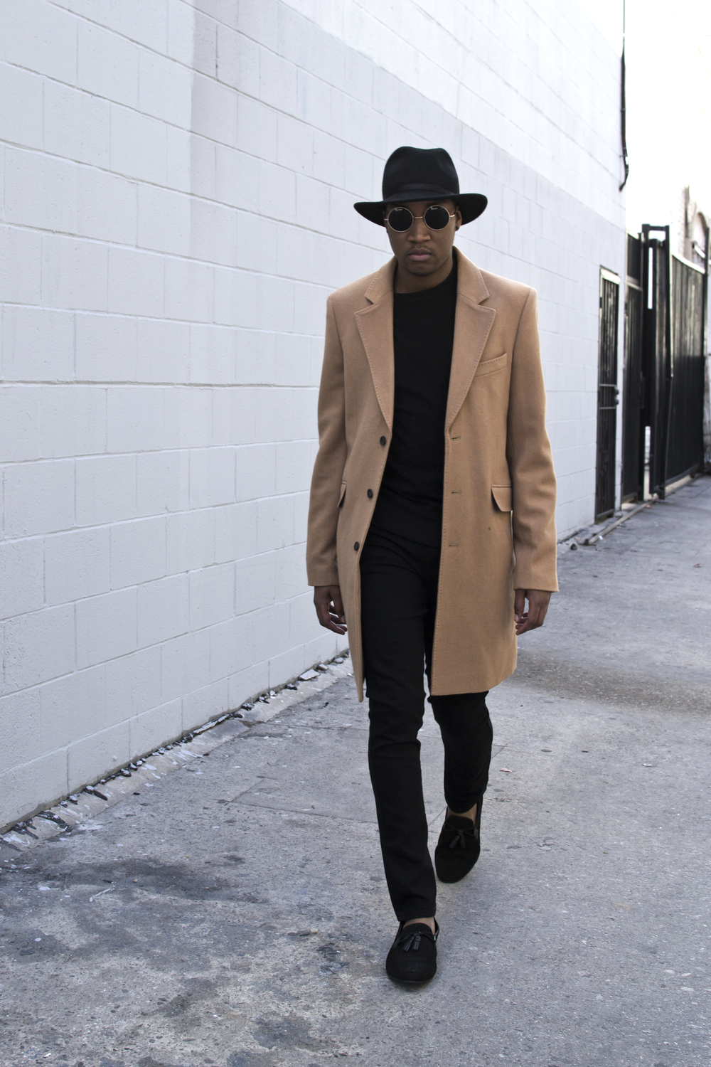Photos by   Anthony Mark Beltran   Coat- ASOS  Loafers-   ASOS        Shirt & Jeans - 21 Men