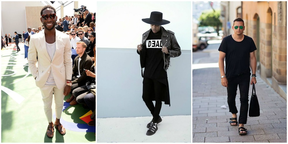 1. Rapper, Tinie Tempah  2. Model for Dead Studios  3. Stylish man, who's name I do not know.