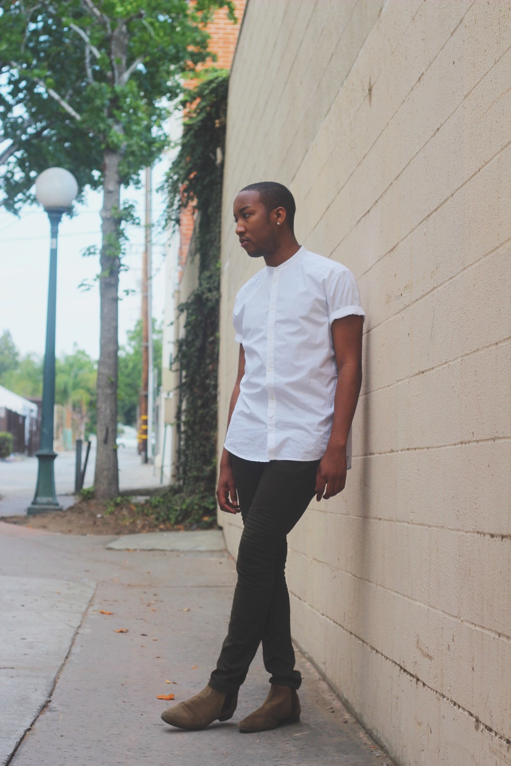 Photos by   Bethany Barnes    Shirt- H&M  Pants- 21MEN