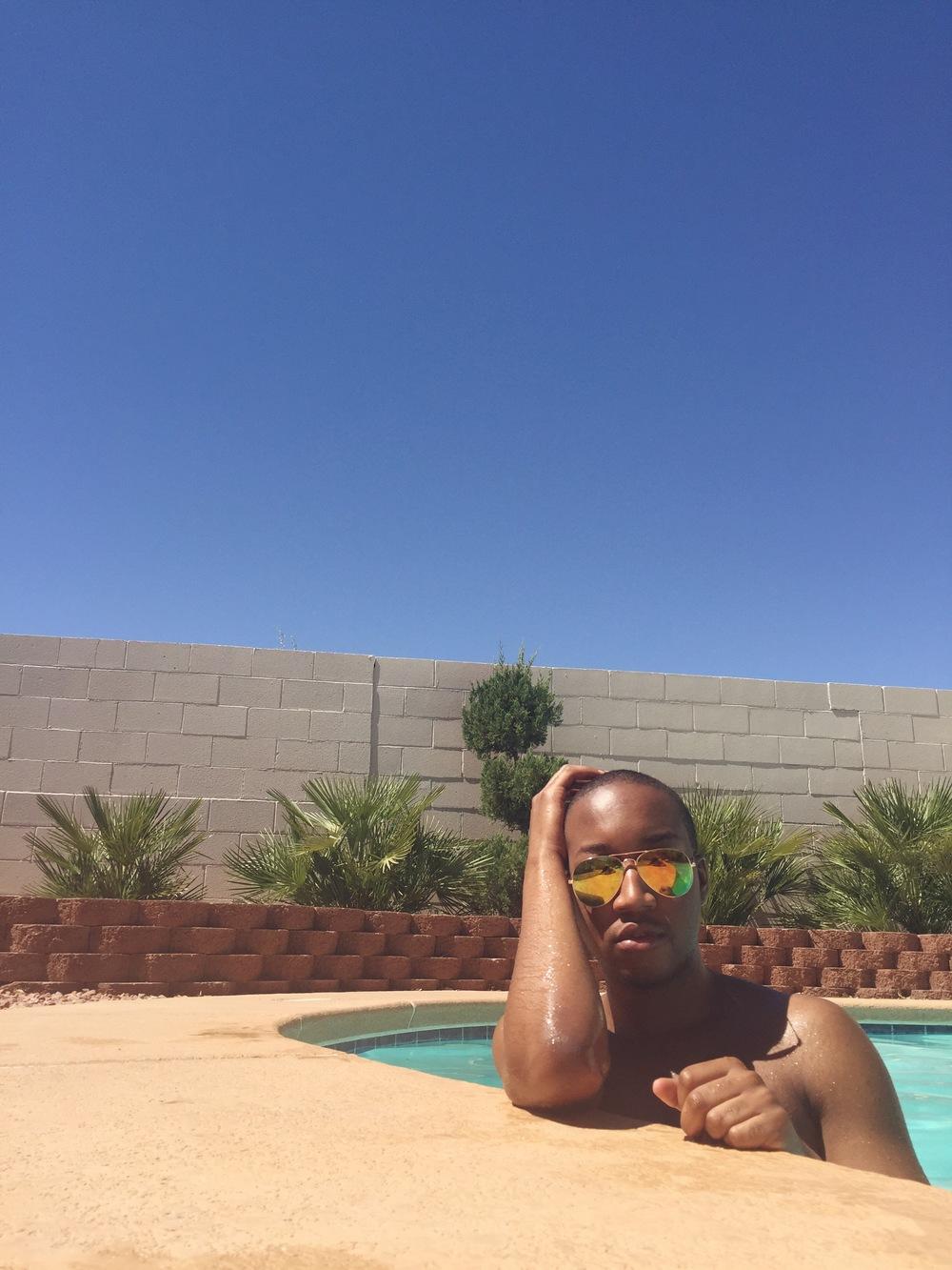 Photos by Sesalli Castillo Trunks - 21Men Sunglasses - Ebay'd