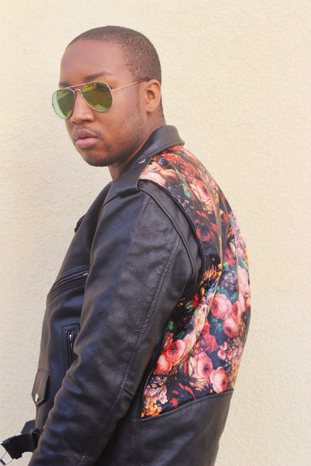 Shot by Mia McNeil Jacket - Reclaimed Vintage Sunglasses - Ebay'd