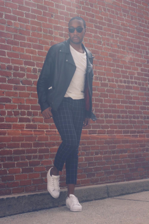 Shot by Mia McNeil Jacket - ASOS Pants- 21MEN Shoes - Adidas
