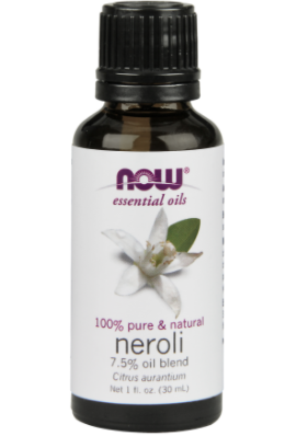 Neroli Oil - I honestly just love the way this smells.  Does it lift my mood, idk. But, it smells good, and I'm happier when things smell good.
