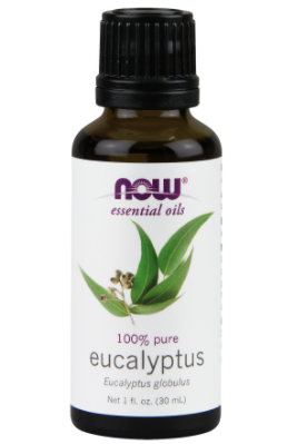 Eucalyptus Oil - Bad sinuses?  Stuffed nose?  Eucalyptus Oil's got you covered.  Just don't overdue in your diffuser because it can get super strong.