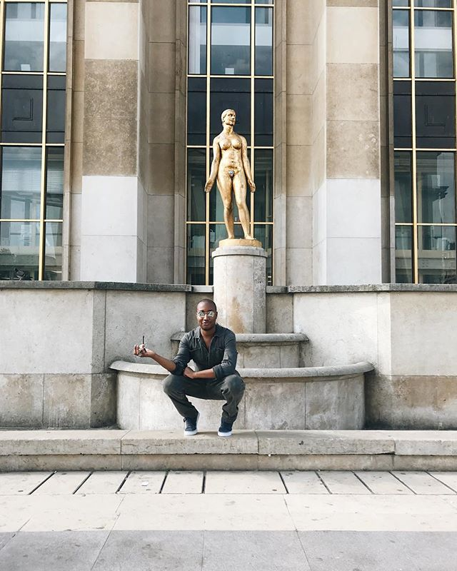 squats + statues