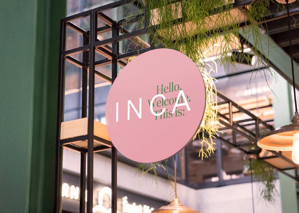 INCA - restaurant identity