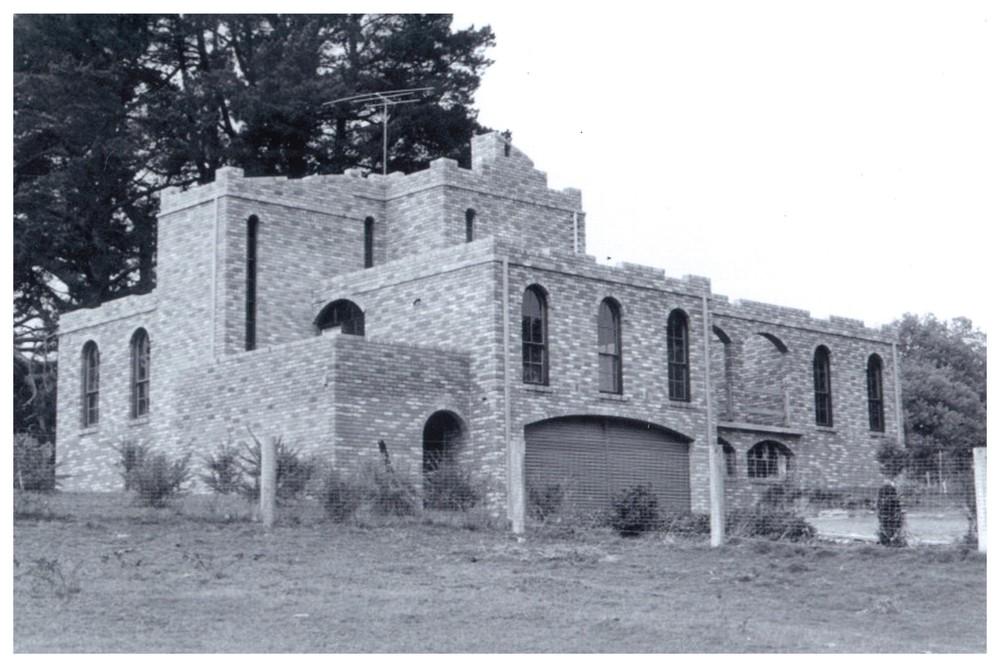 The castle Eliseo built for us in Kinglake