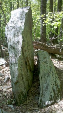 Monument Rock, Caratunk Audubon Refuge.