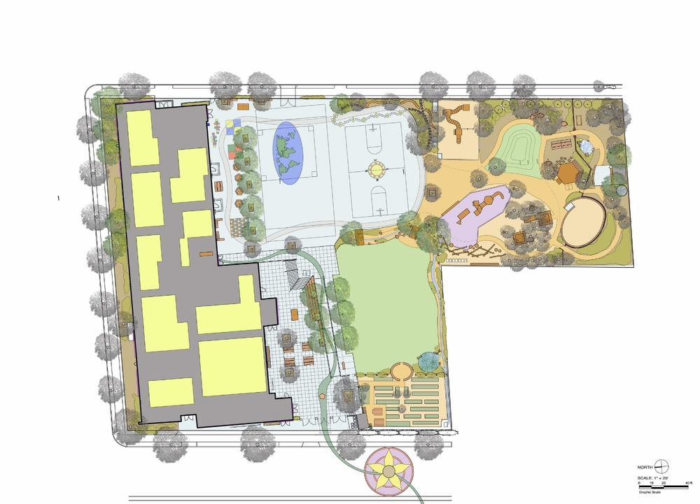Masterplan for Washington Elementary School