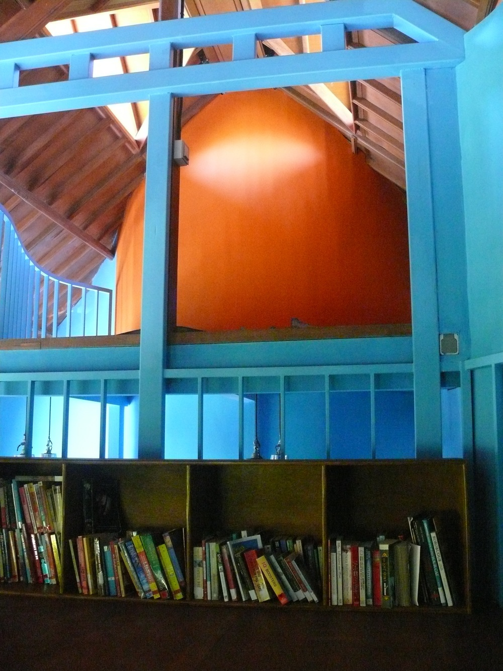 Reading Loft at Sunshine School