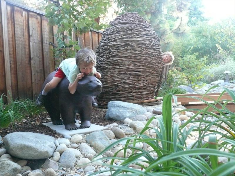 Residential Children's Garden - Palo Alto