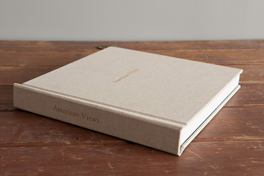 Atkins' latest Pure Photographic Album, bound with a linen cover, engraved. Ideal as a trip record.