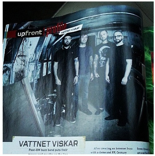 Vattnet Viskar. Decibel Magazine Issue #109