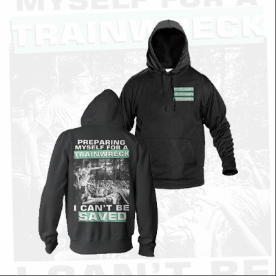"State Champs ""I Can't Be Saved"" Hoodie. Available at MerchConnectioninc.com"