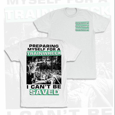 "State Champs ""I Can't Be Saved"" T-Shirt. Available at MerchConnectioninc.com"