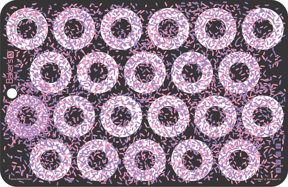Bakers 13 Sprinkles 11x17