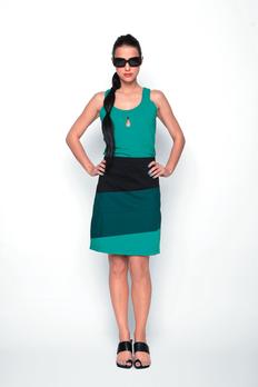 A line skirt. Courtesy of Skunk Funk.