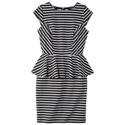 Mossimo peplum dress. Courtesy of Target.